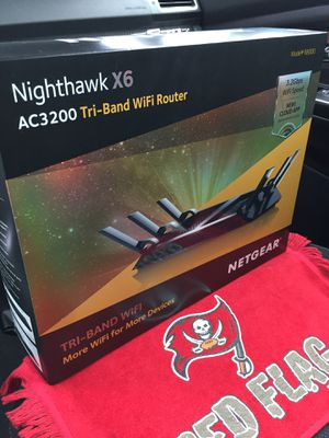 NETGEAR Nighthawk X6 Tri-Band WiFi Router for Sale in Tampa, FL