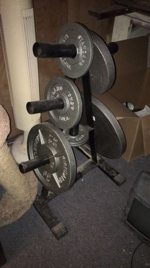 Weights and gym equipment for Sale in Woodstock, GA
