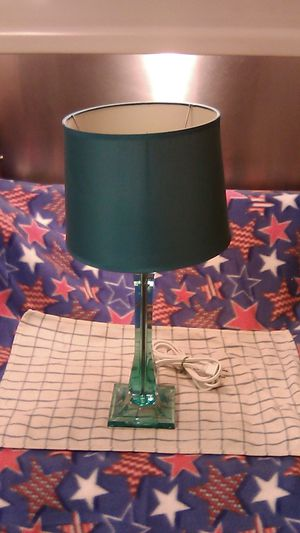 Table Lamp w/ energy saving bulb included for Sale in East Providence, RI