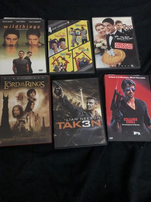 Movies dvds silvester Stallone Cd horror comedy action movies lord of the rings for Sale in Glendale, AZ