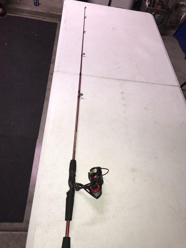 Fishing rod with quantum reel