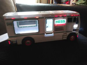 2018 hess collection toy rv wih atv a nd motorbike for Sale in Houston, TX