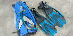 U.S. Diver fins and snorkel for Sale in Tempe, AZ