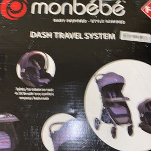 Monbebe Stroller And Car seat for Sale in Orland Park, IL