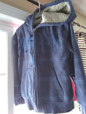Hurley warm thick sweater size youth bundle deal xs 5/6 and a Lei youth xl puffy satin warm vest for Sale in Spokane, WA