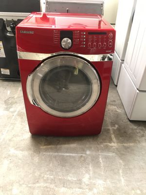 Gas dryer brand Samsung everything is good working condition 90 days warranty delivery and installation for Sale in San Lorenzo, CA
