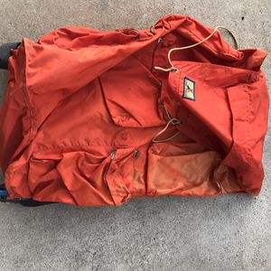 Orange large Hiking backpack in fair condtion for Sale in Glendale, AZ