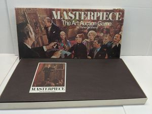 Vintage 1970 MASTERPIECE - The Art Auction Board Game by Parker Brothers for Sale in Mount Prospect, IL