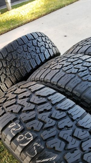 4 tires 275 60r20 falken wildpeack very good tread on $250.00 for Sale in Placentia, CA