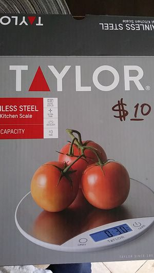 TAYLOR STAINLESS STEEL DIGITAL KITCHEN SCALE for Sale in Los Angeles, CA