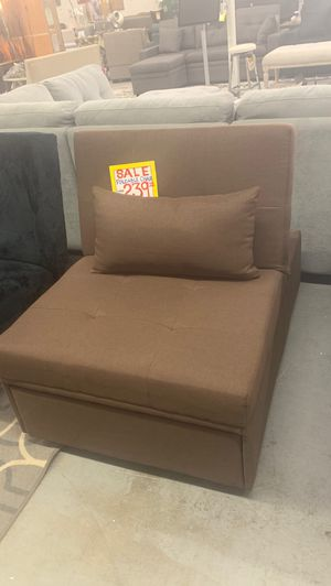 Futon bed chair ottoman bed combo for Sale in Temecula, CA