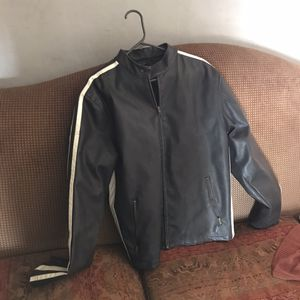 Brave soul men's leather motorcycle jacket for Sale in Phoenix, AZ