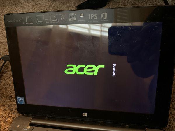 Acer tablet/laptop