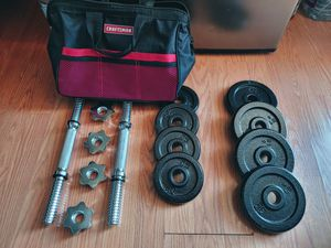 Like New Dumbbell Weights for Sale in San Jose, CA