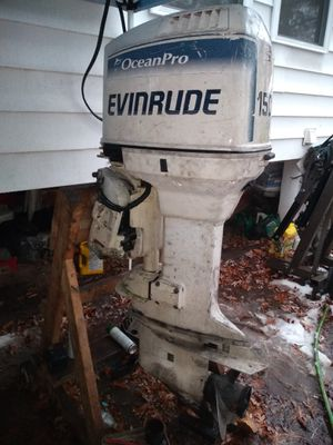 Evinrude ocean pro 150hp outboard motor for Sale in Lanham, MD
