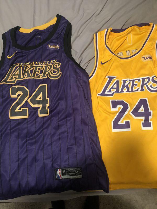 Lakers Kobe size 52