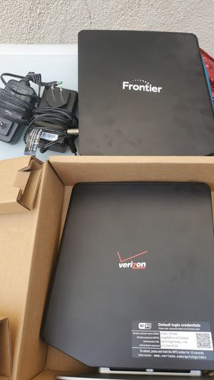 Frontier/ Verizon modem and router for Sale in Pomona, CA