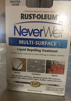 Never Wet Multi-Surface Treatment for Sale in Dallas, TX