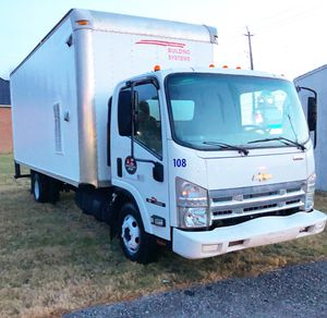 2008 Chevy npr Isuzu diesel Box Truck 16 FT for Sale in Gaithersburg, MD