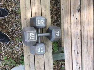Dumbbells 60 cent per pound for Sale in Groveport, OH