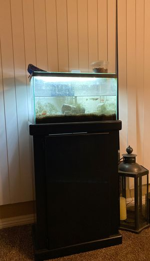 Free Fish Tank and stand for Sale in Garden Grove, CA