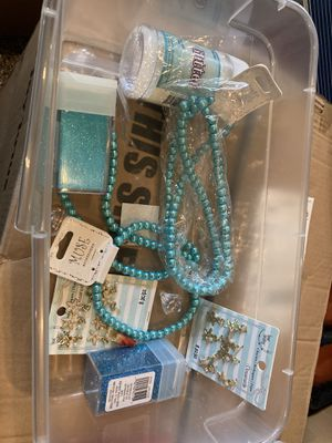 Starfish charms, glitter and pearls for Sale in Long Beach, CA