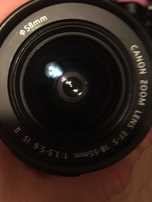 Canon camera lense for Sale in Tigard, OR