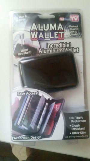 Aluma wallet for Sale in Grosse Pointe Farms, MI