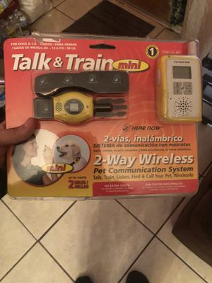 Talk and train thing for dogs for Sale in Los Angeles, CA