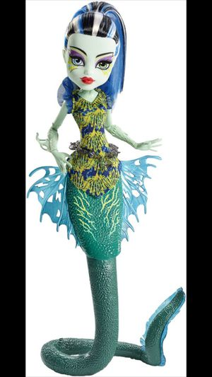 Great Scarrier Reef – Glowsome Ghoulfish Frankie Stein doll for Sale in Princeton, FL
