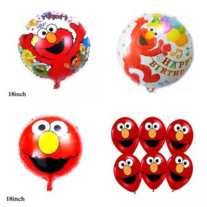 Elmo Sesame Street 10pcs Latex/Foil Balloons for Sale in Alhambra, CA