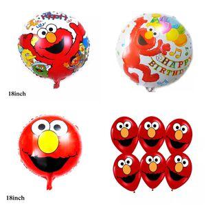 Elmo Sesame Street 10pcs Latex/Foil Balloons for Sale in Alhambra, CA