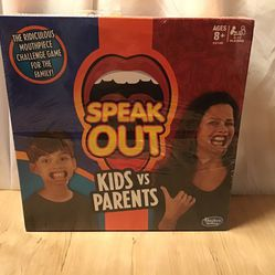 Speak Out Game Kids VS Parents for Sale in Boring,  OR