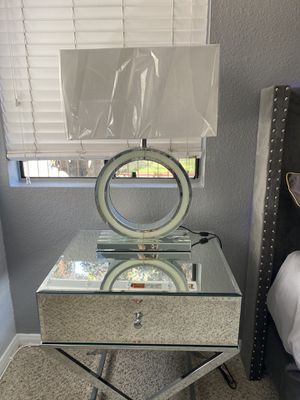 """2 Mirrored Modern 27.17"""" Table Lamps (sold as set) for Sale in San Diego, CA"""