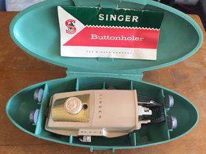 Singer buttonholer for Sale in Torrance, CA