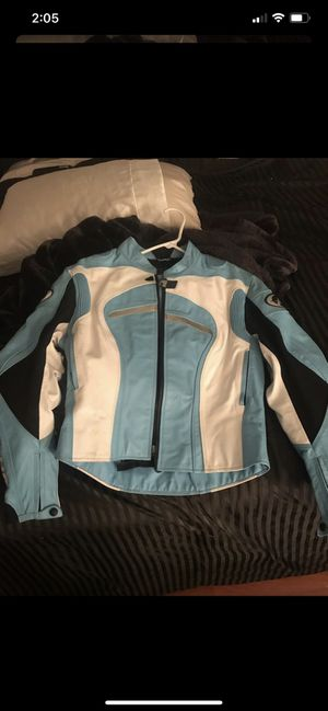 Women's motorcycle leather jacket for Sale in Tampa, FL