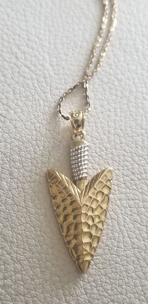 10kt pendant & Necklace new for Sale in Laytonsville, MD