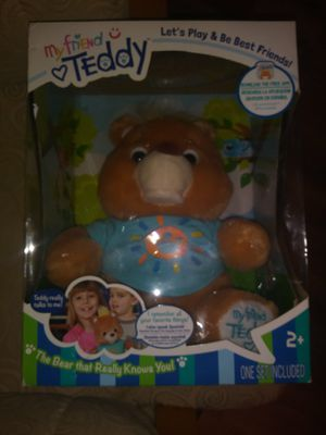 My friend teddy interactive bear new for Sale in Egg Harbor Township, NJ