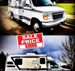 Very Rare 1997 Chinook Camper Van BigSale for Sale in Alexandria, VA