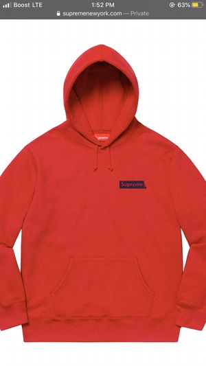 """Supreme Hoodie """"Stop Crying"""" for Sale in Chicago, IL"""