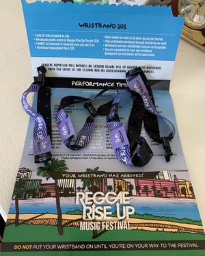 Reggae Rise Up Florida 2020 for Sale in Madeira Beach, FL