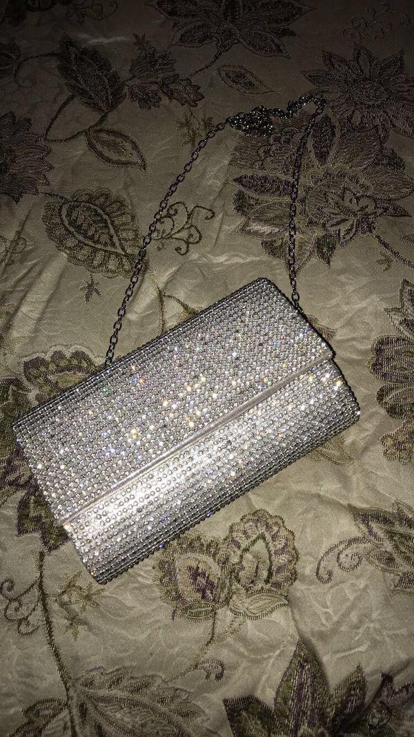 Silver Wallet Bag