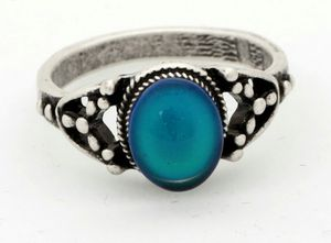 Handmade Sterling Silver Color Change Mood Ring for Sale in Wichita, KS