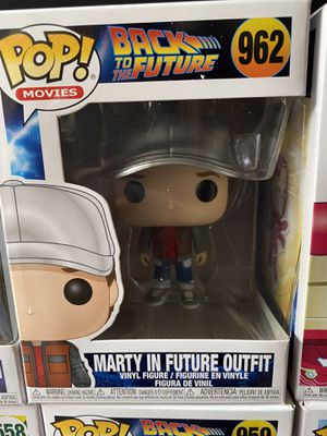 Back to the Future Marty in Future Outfit #962 Funko POP for Sale in Bellflower, CA