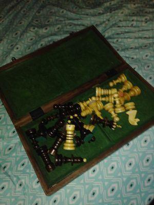 Antique chess set for Sale in El Monte, CA