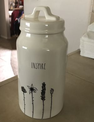 Rae Dunn Inspire canister for Sale in Fresno, CA