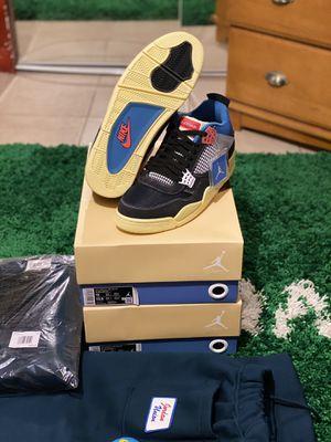 Jordan Retro 4 Union Off Noir size 12 pants size XXL for Sale in Lawrenceville, GA