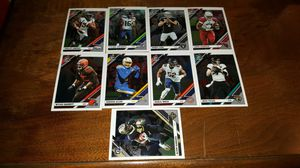 Lot of 9 2019 Donruss optic football cards for Sale in Tacoma, WA