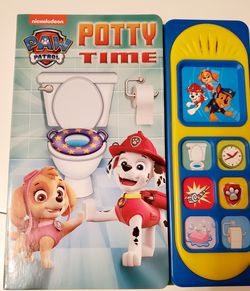 Paw Patrol Potty Book With Sounds for Sale in Orlando,  FL