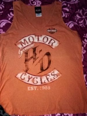 HARLEY DAVIDSON TANK TOP XXL EXCELLENT CONDITION FOR for Sale in Port Charlotte, FL